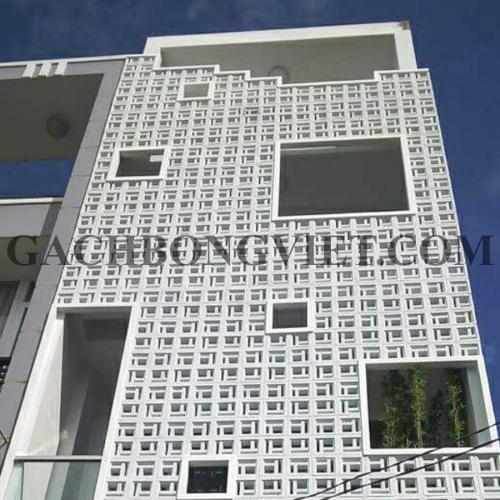 Công trình nhà ở ốp Gạch bông gió