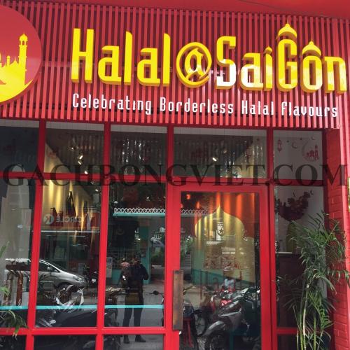Nhà hàng Halal Sài Gòn - Quận 1