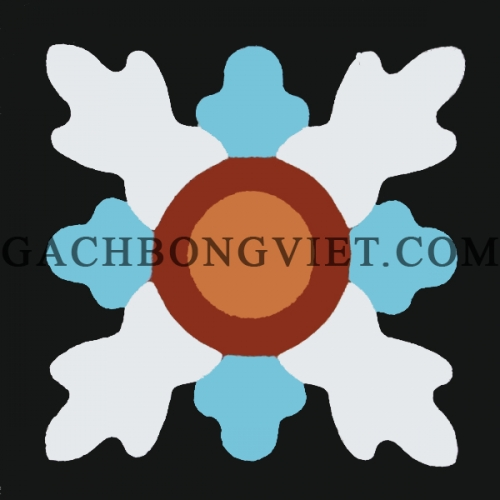 Gạch bông 10x10, V10-05