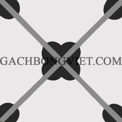 Gạch bông 20x20, stock V20-S12, 200m2