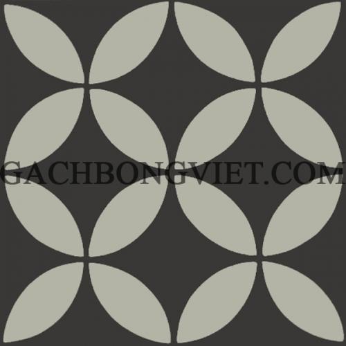Gạch bông 20x20, stock V20-S02-1, 40m2
