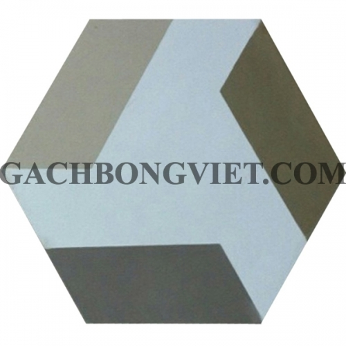 Gạch bông lục giác 23x20, VH-02