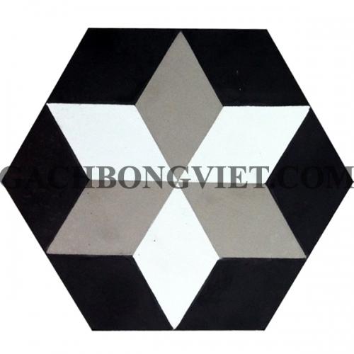 Gạch bông lục giác 23x20, VH-04