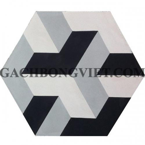 Gạch bông lục giác 23x20, VH-10