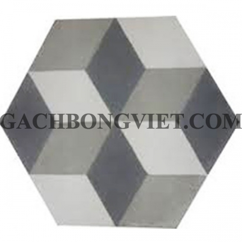 Gạch bông lục giác 23x20, VH-12