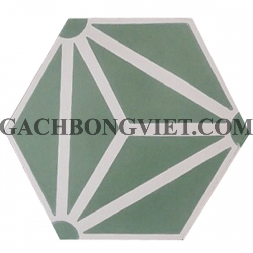 Gạch bông lục giác 23x20, VH-13