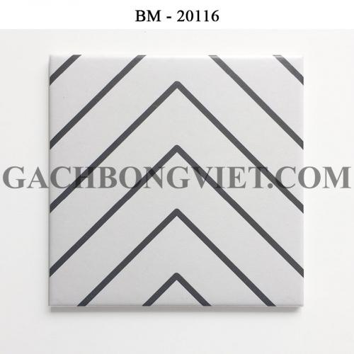 Gạch bông men 20x20, BM-20116