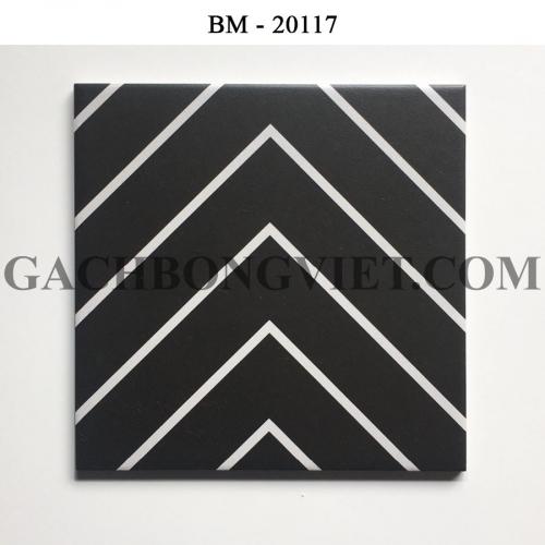 Gạch bông men 20x20, BM-20117