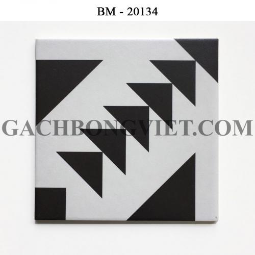 Gạch bông men 20x20, BM-20134