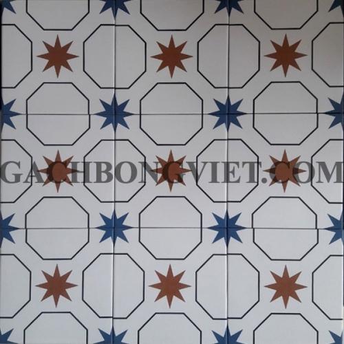 Gạch bông men 20x20, BM-A2027