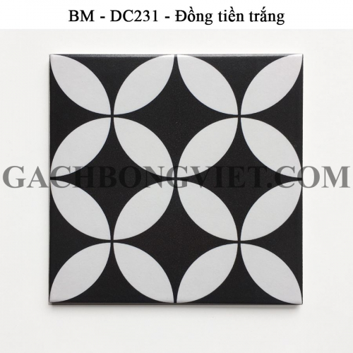 Gạch bông men 20x20, BM-DC231