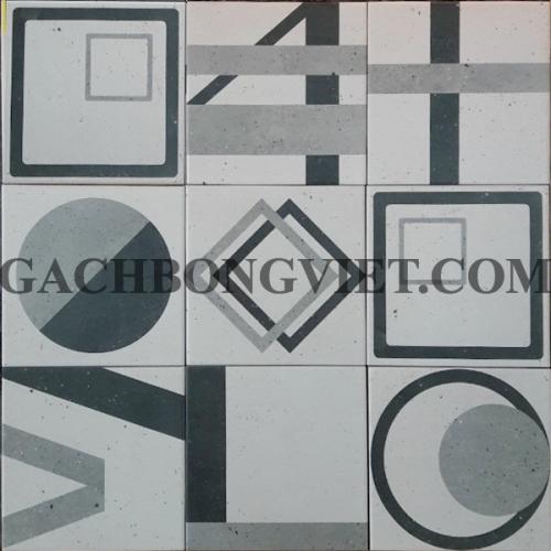 Gạch bông men 20x20, BM-P206