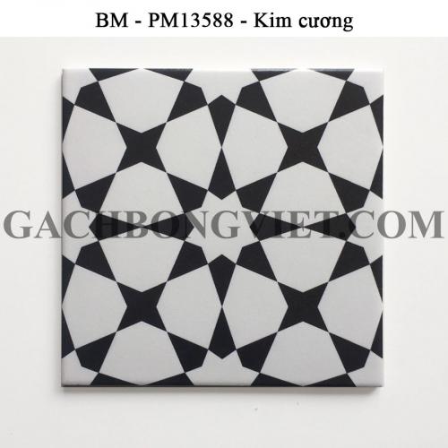 Gạch bông men 20x20, BM-PM31588