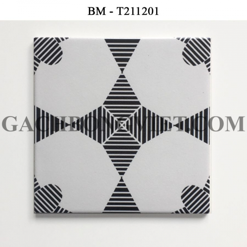 Gạch bông men 20x20, BM-T211201