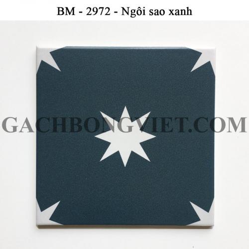 Gạch bông men 20x20, BM-T2972