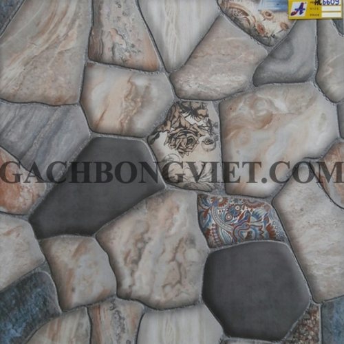 Gạch bông men 60x60, HC6609