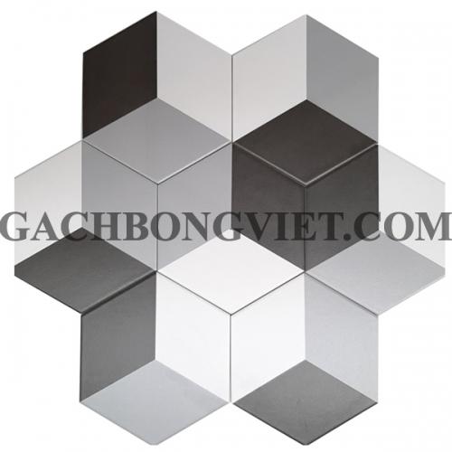 Gạch bông men lục giác, LGM-004M