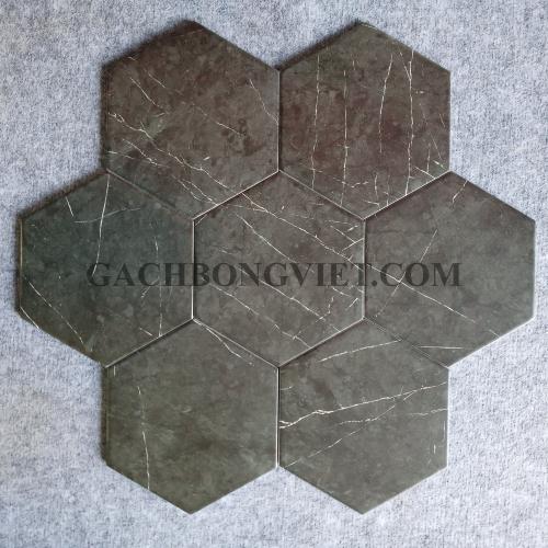 Gạch bông men lục giác, LGM - FL23028