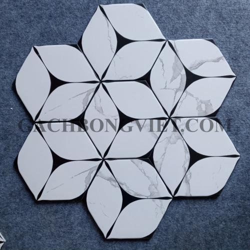 Gạch bông men lục giác, LGM - FL23057