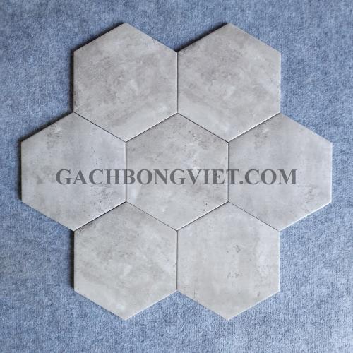 Gạch bông men lục giác, LGM - FL236