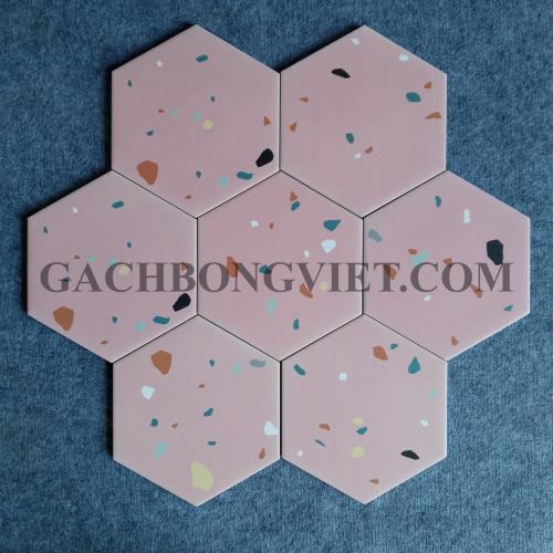 Gạch bông men lục giác, LGM - FL249
