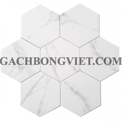 Gạch bông men lục giác, LGM - M10