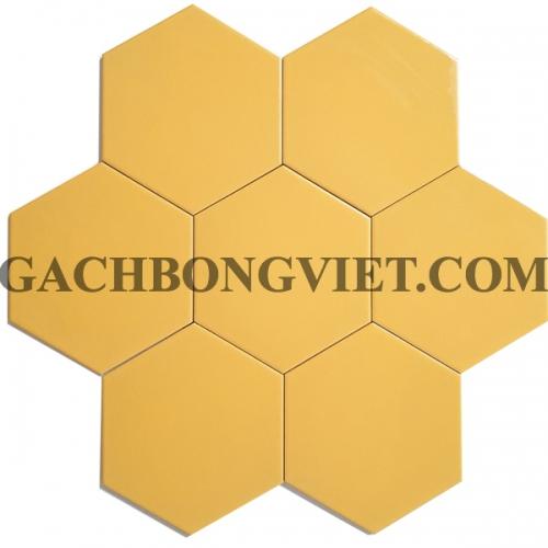 Gạch bông men lục giác, LGM - Vàng