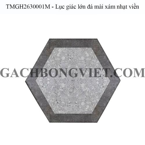 Gạch bông men lục giác lớn, LGM - TMGH2630001M