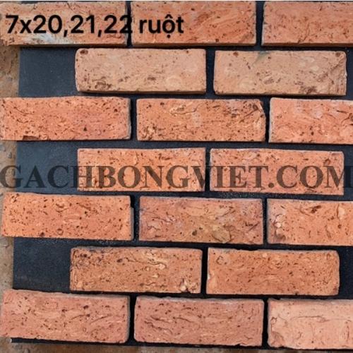 Gạch cổ cắt ruột Sài Gòn, 7x21 cm