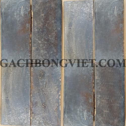 Gạch gốm nung 7.5x15 cm, Xám thô
