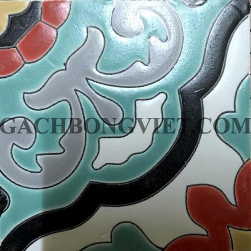 Gạch gốm nung, Hoa văn 08