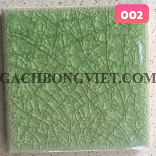 Gạch gốm nung men rạn 10x10cm, MRB-002