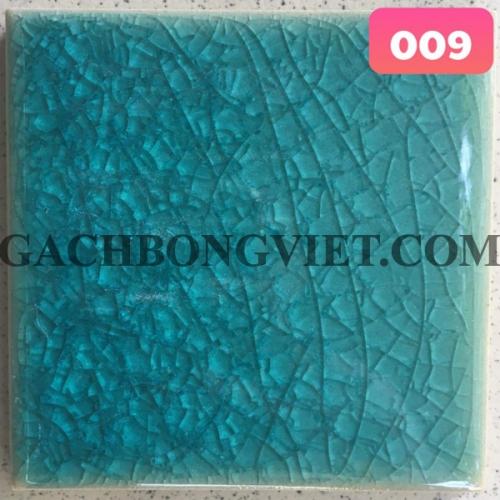 Gạch gốm nung men rạn 10x10cm, MRB-009
