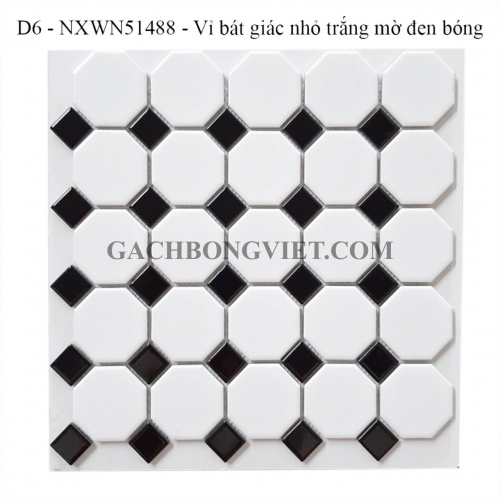 Gạch mosaic bát giác nhỏ, M-NXWN51488