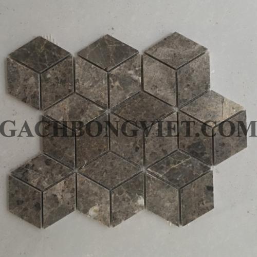 Gạch mosaic đá tự nhiên, D-06