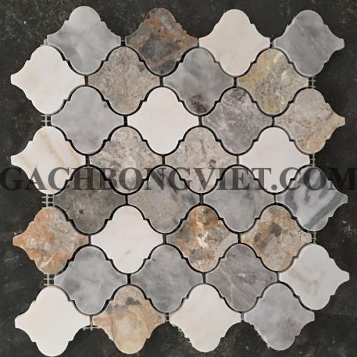 Gạch mosaic đá tự nhiên, D-10