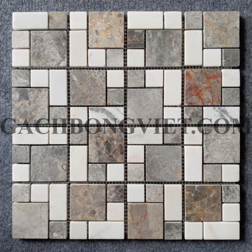 Gạch mosaic đá tự nhiên, M38P601
