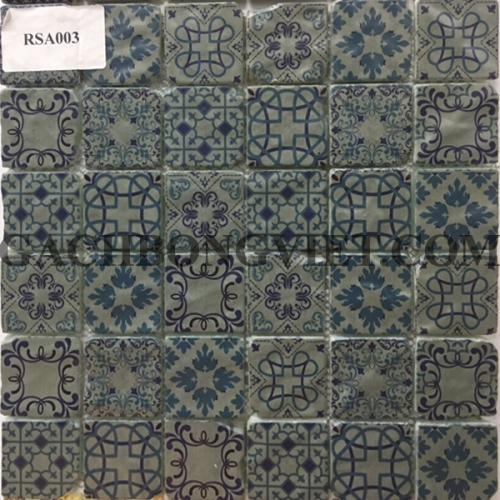Gạch mosaic hoa văn, RSA003