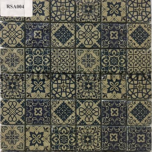 Gạch mosaic hoa văn, RSA004