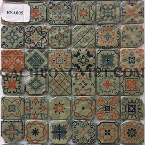 Gạch mosaic hoa văn, RSA005
