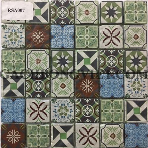 Gạch mosaic hoa văn, RSA007