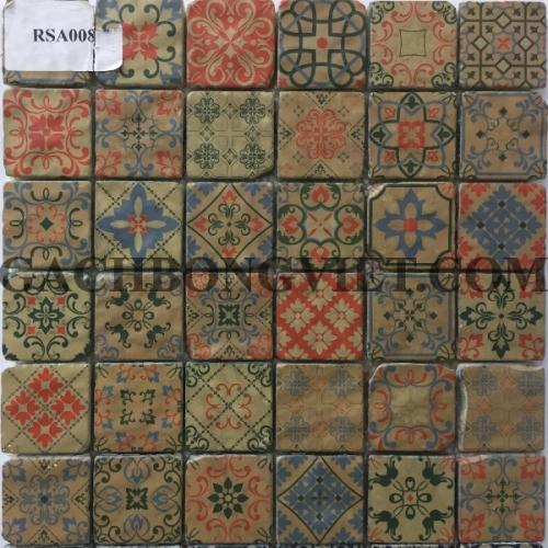 Gạch mosaic hoa văn, RSA008