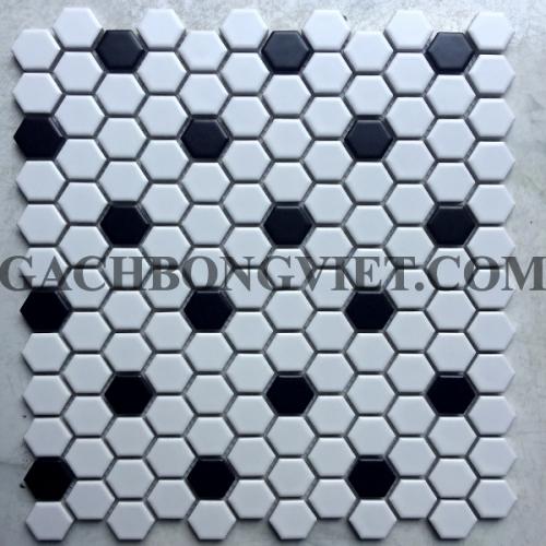 Gạch mosaic lục giác nhỏ, NS87111