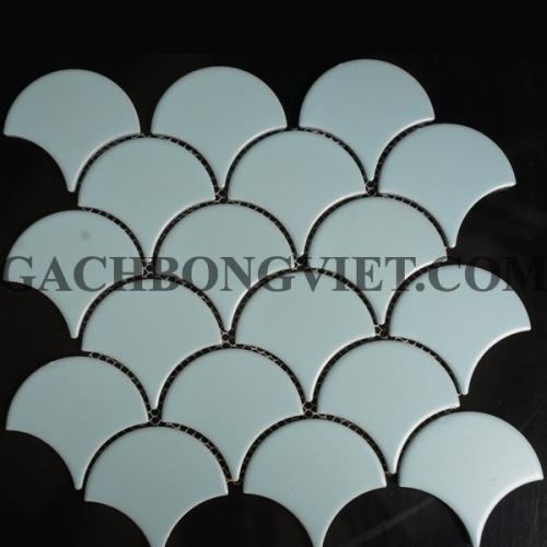 Gạch mosaic vảy cá, M-651X