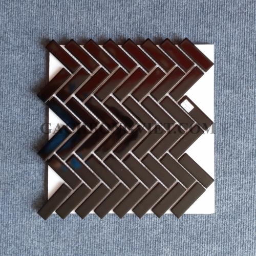 Gạch mosaic men, M-W008