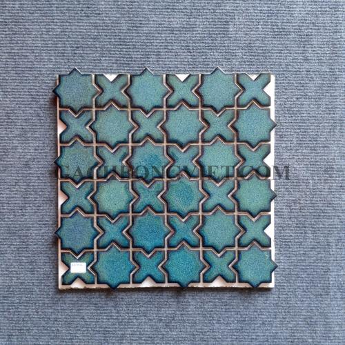 Gạch mosaic men, M-W010