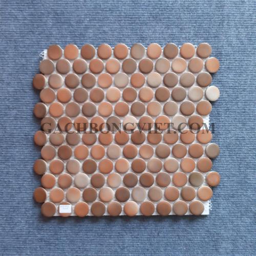 Gạch mosaic men, M-W019