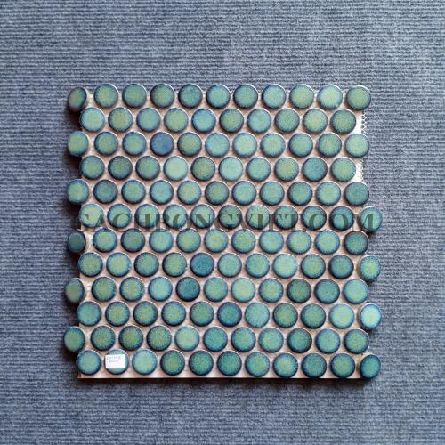 Gạch mosaic men, M-W022