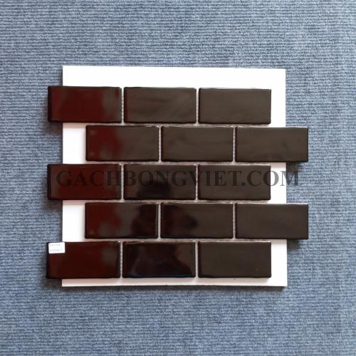 Gạch mosaic men, M-W036