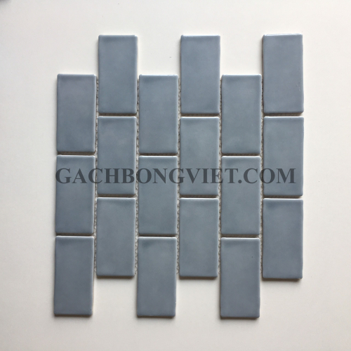 Gạch mosaic men, M-W040